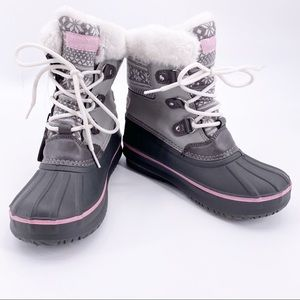 London Fog Water Resistant Fully Lined Boots
